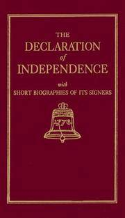 image of Declaration of Independence (Books of American Wisdom)