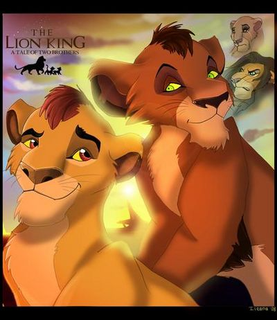 Disney S The Lion King Six New Adventures A Tale Of Two Brothers Nala S Dare Vulture Shock A Snake In The Grass Follow The Leader How True Zazu By Disney 1994