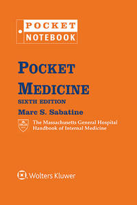 Pocket Medicine: The Massachusetts General Hospital Handbook of Internal Medicine by  Marc S Sabatine - from ABC Books (SKU: SKU1614180)