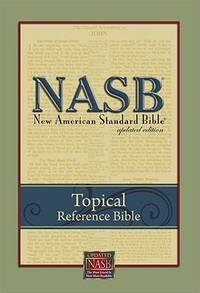 NASB Topical Reference Bible, BL, Black