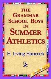 The Grammar School Boys In Summer Athletics