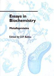 essays biochemistry 2000 Essay biochemistry exercise, third year - grade b biochemistry exercise, third  year  the inner mitochondrial membrane (sue & schon, 2000) the role of the.