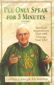 I\'ll Only Speak for 3 Minutes: Volume 2