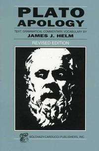 image of Plato: Apology (Greek Edition) (Greek and English Edition)