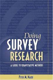Doing Survey Research: A Guide to Quantitative Research Methods by Peter M. Nardi