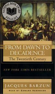 image of From Dawn to Decadence: The twentieth century