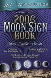 Llewellyn's 2006 Moon Sign Book