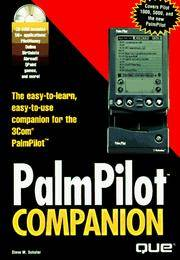 PalmPilot Companion with CDROM covers Pilot 1000, 5000, and the New PalmPilot