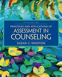 Principles and Applications of Assessment in Counseling (5th Edition) by Susan C. Whiston - Hardcover - 5th - 2016-02 - from textbookforyou (SKU: 232)