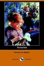 image of Honorine (Dodo Press)