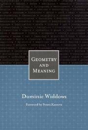 Geometry and Meaning
