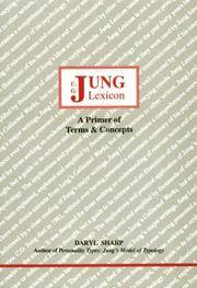C. G. Jung Lexicon: A Primer of Terms and Concepts (Studies in Jungian Psychology by Jungian...