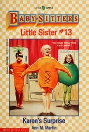Little Sister # 13: Karen's Surprise