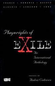 Playwrights of Exile by  FranCoise Kourilsky (Editor)  Wadji Mouwad - Paperback - 1997-06-01 - from Ergodebooks (SKU: DADAX0913745480)