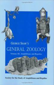 image of General Zoology, or, Systematic Natural History (Facsimile Reprints in Herpetology)