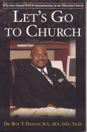 Let's Go To Church: Why There Should Not Be Denominations