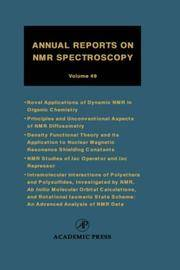 Annual Reports on NMR Spectroscopy: 10
