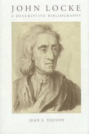 JOHN LOCKE BIBLIOGRAPHY