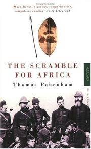 THE SCRAMBLE FOR AFRICA 1876-1912. by  Thomas Pakenham - Paperback - from Fables Bookshop and Biblio.com