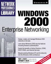 Windows 2000 Enterprise Networking (Network Professional's Library)