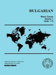 Bulgarian Basic Course by  T. Hodge Carleton - Paperback - 1970 - from Bananafish Books and Biblio.com