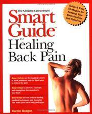 Smart Guide to Healing Back Pain by  Carole Bodger - Paperback - First Thus - 19 - from Adventures Underground and Biblio.co.uk