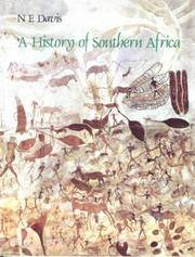 A HISTORY OF SOUTHERN AFRICA