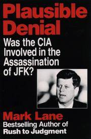 Plausible Denial by Mark Lane - Paperback - 1992-01-01 - from Books Express and Biblio.com