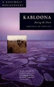 Kabloona: Among the Inuit (Graywolf Rediscovery Series)