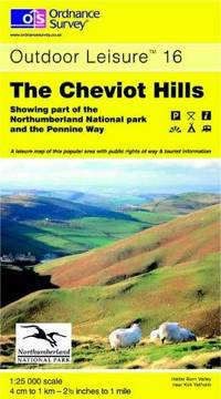 image of The Cheviot Hills (Outdoor Leisure Maps)