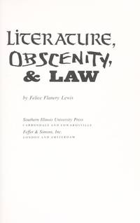 Literature, Obscenity, & Law