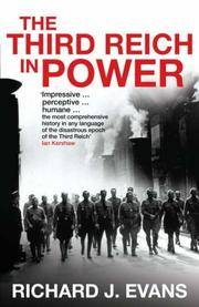 image of The Third Reich at War: How the Nazis Led Germany from Conquest to Disaster (Allen Lane History)