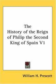 image of The History of the Reign of Philip the Second King of Spain V1
