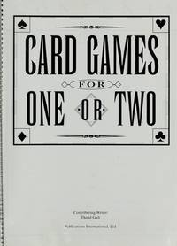 Card Games for One Or Two