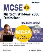 MCSE Exam 70-210 Microsoft Windows 2000 Professional Readiness Review