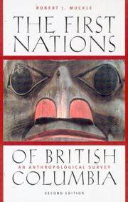 Stock Photo  The First Nations of British Columbia: An Anthropological Survey