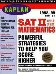KAPLAN SAT II MATHEMATICS 1998 99 (Serial)