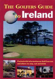 The Golfers Guide to Ireland by  Dermot Gilleece - Paperback - First Edition. - (2000). - from Biblioceros Books and Biblio.com