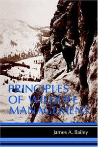 Principle of Wildlife Management