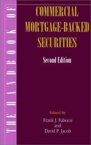 Handbook of Commercial Mortgage-Backed Securities