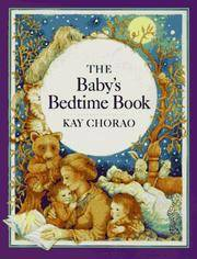 The Baby's Bedtime Book by Kay Chorao - Hardcover - 1990 - from ThatBookGuy and Biblio.com