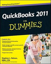 Quickbooks 2011 For Dummies