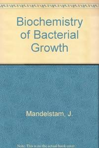 Biochemistry Of Bacterial Growth