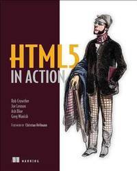 HTML5 in Action