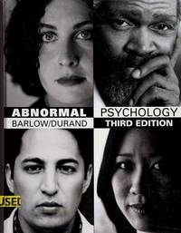 image of Abnormal Psychology: An Integrative Approach (with InfoTrac and CD-ROM)
