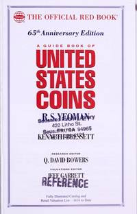 2012 Guide Book Of United States Coins