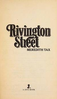 Rivington Street by Tax Meredith - Paperback - 1983 - from Snowball Bookshop (SKU: EF8034)