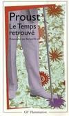 image of A la recherche du temps perdu, tome 7 : Le Temps retrouv?? (Garnier-Flammarion) (French Edition)