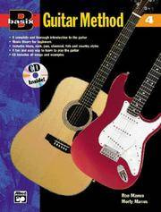 Basix Guitar Method, Bk 4: Book & CD (Basix(R) Series)