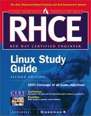 RHCE Red Hat Certified Engineer Linux Study Guide